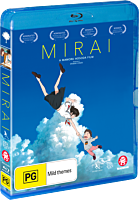 Mirai - The Movie Blu-Ray