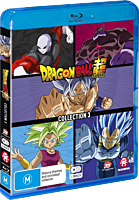 Dragon Ball Super - Collection 03 Episodes 54-131 Blu-Ray Box Set