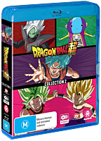 Dragon Ball Super - Collection 2 Episodes 53-104 Blu-Ray Box Set (8 Discs)