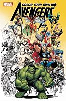 The Avengers - Colour Your Own Avengers Paperback