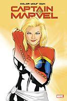 Captain Marvel - Colour Your Own Captain Marvel Paperback
