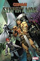 Conan - Serpent War Trade Paperback Book