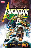 Avengers - Live Kree or Die Trade Paperback Book