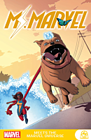 Ms. Marvel - Meets the Marvel Universe Paperback Book