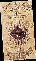 Harry Potter -  Marauder's Map Prop 1:1 Full Size Prop Replica