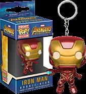 Avengers 3: Infinity War - Iron Man Pocket Pop! Vinyl Keychain by Funko