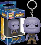 Avengers 3: Infinity War - Thanos Pocket Pop! Vinyl Keychain by Funko.