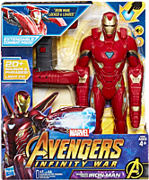 "Avengers 3: Infinity War - Mission Tech Iron Man 14"" Action Figure by Hasbro."