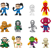 Fantastic Four - Mystery Minis Blind Box (Display of 12).
