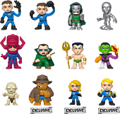 Fantastic Four - Mystery Minis TG Exclusive Blind Box (Display of 12)