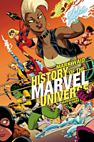 Marvel - History of the Marvel Universe Trade Paperback Book (DM Variant Cover)