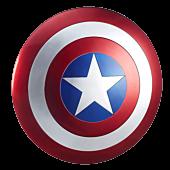 "Captain America Shield Marvel Legends Series 24"" Prop Replica"