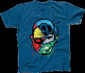 Marvel - Choose Your Hero Cobalt Blue Male T-Shirt