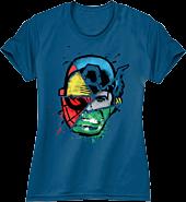 Marvel - Choose Your Hero Cobalt Blue Female T-Shirt