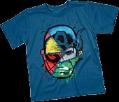 Marvel - Choose Your Hero Cobalt Blue Kids or Youth T-Shirt