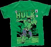 Hulk - The Incredible Hulk Green Male T-Shirt
