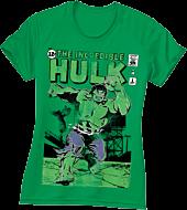 Hulk - The Incredible Hulk Green Female T-Shirt