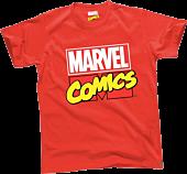 Marvel - Logo Red Male T-Shirt