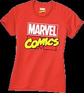 Marvel - Logo Red Female T-Shirt