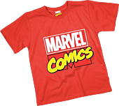 Marvel - Logo Red Kids or Youth T-Shirt
