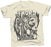 Thor - For Asgard Cream Male T-Shirt