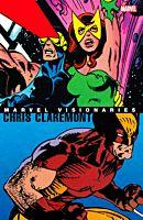 Marvel Visionaries - Chris Claremont Trade Paperback Book