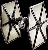 "Star Wars Episode VII: The Force Awakens - First Order TIE Fighter Hot Wheels Elite Die-Cast 6"" Replica"