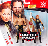 "WWE - Becky Lynch and Seth Rollins Basic Series 6"" Action Figure 2-Pack"