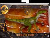 "Jurassic World - Velociraptor Charlie Amber Collection 6"" Action Figure"