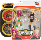 "WWE - Sasha Banks vs. Alexa Bliss Champion Showdown 6"" Action Figure 2-Pack"