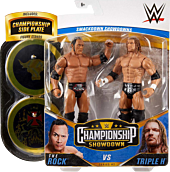"WWE: Championship Showdown - The Rock Vs Triple H 6"" Action Figure 2-Pack"