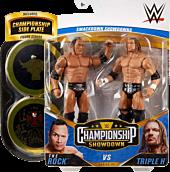 "WWE: Championship Showdown - The Rock Vs Triple H 6"" Action Figure 2-Pack"
