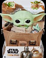 "Star Wars: The Mandalorian - The Child (Baby Yoda) 11"" Plush with Satchel"