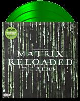 The Matrix Reloaded - The Album Original Motion Picture Soundtrack 3xLP Vinyl Record (2019 Record Store Day Exclusive Transparent Green Coloured Vinyl)