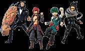 "My Hero Academia - Wave 4 7"" Scale Action Figure Assortment (Set of 4)"