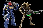 "Warhammer 40,000 - Series 1 7"" Action Figure Assortment (Set of 2)"