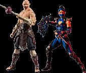 "Mortal Kombat 11 - Kitana & Baraka 7"" Action Figure Assortment (Set of 2)"