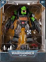 "Warhammer 40,000 - Ork Meganob with Buzzsaw MegaFig 7"" Scale Action Figure"