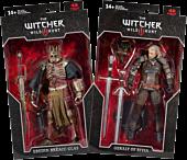 "The Witcher 3: Wild Hunt - Geralt & Eredin 7"" Action Figure Assortment (Set of 2)"