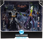 "Batman: Arkham Asylum - Batman vs. The Joker Venom Variant DC Multiverse 7"" Action Figure 2-Pack"