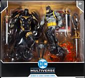 "Batman: Curse of the White Knight - Batman vs. Azrael in Batman Armor DC Multiverse 7"" Scale Action Figure 2-Pack"