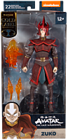 """Avatar: The Last Airbender - Prince Zuko Helmeted Gold Label 7"""" Scale Action Figure"""