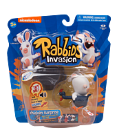 "Rabbids - Rabbids Invasion Sounds and Action Chicken Surprise 3"" Action Figure (Series 1)"