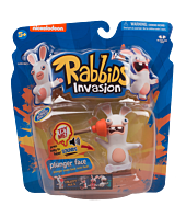 "Rabbids - Rabbids Invasion Sounds and Action Plunger Face 3"" Action Figure (Series 1)"