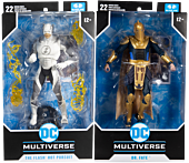 """Injustice 2 - The Flash & Dr. Fate DC Multiverse 7"""" Scale Action Figure Assortment (Set of 2)"""