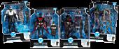 """Batman Beyond - Batman: Futures End Build-A-Figure DC Multiverse 7"""" Scale Action Figure Assortment (Set of 4)"""