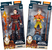 """Avatar: The Last Airbender - Wave 01 7"""" Scale Action Figure Assortment (Set of 2)"""