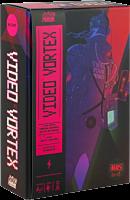 Video Vortex - Deck Building Board Game with Bonus Handbills (Set of 2)