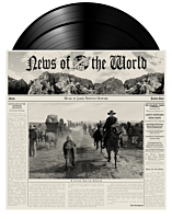 News Of The World - Original Motion Picture Soundtrack by James Newton Howard 2xLP Vinyl Record