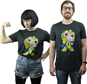 Guardians of the Galaxy - Thanos Pop! Tees Mens Black T-Shirt